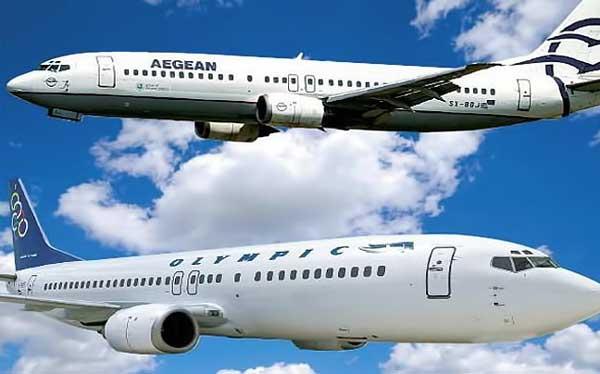 Την Olympic Air εξαγοράζει η Aegean έναντι 72 εκατ. ευρώ