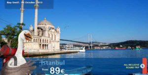 Turkish Airlines: Θεσσαλονίκη - Κωνσταντινούπολη από 89€ με ΕΠΙΣΤΡΟΦΗ!